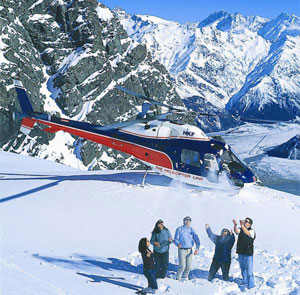The Helicopter Line - Mt Cook